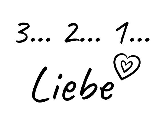3 2 1 Liebe Freebie SW