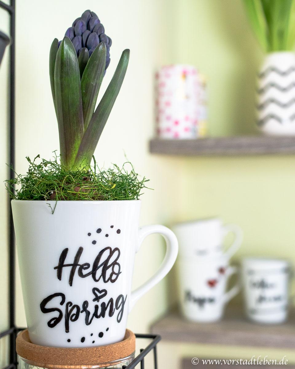 Hello Spring Dekoration Kueche DIY
