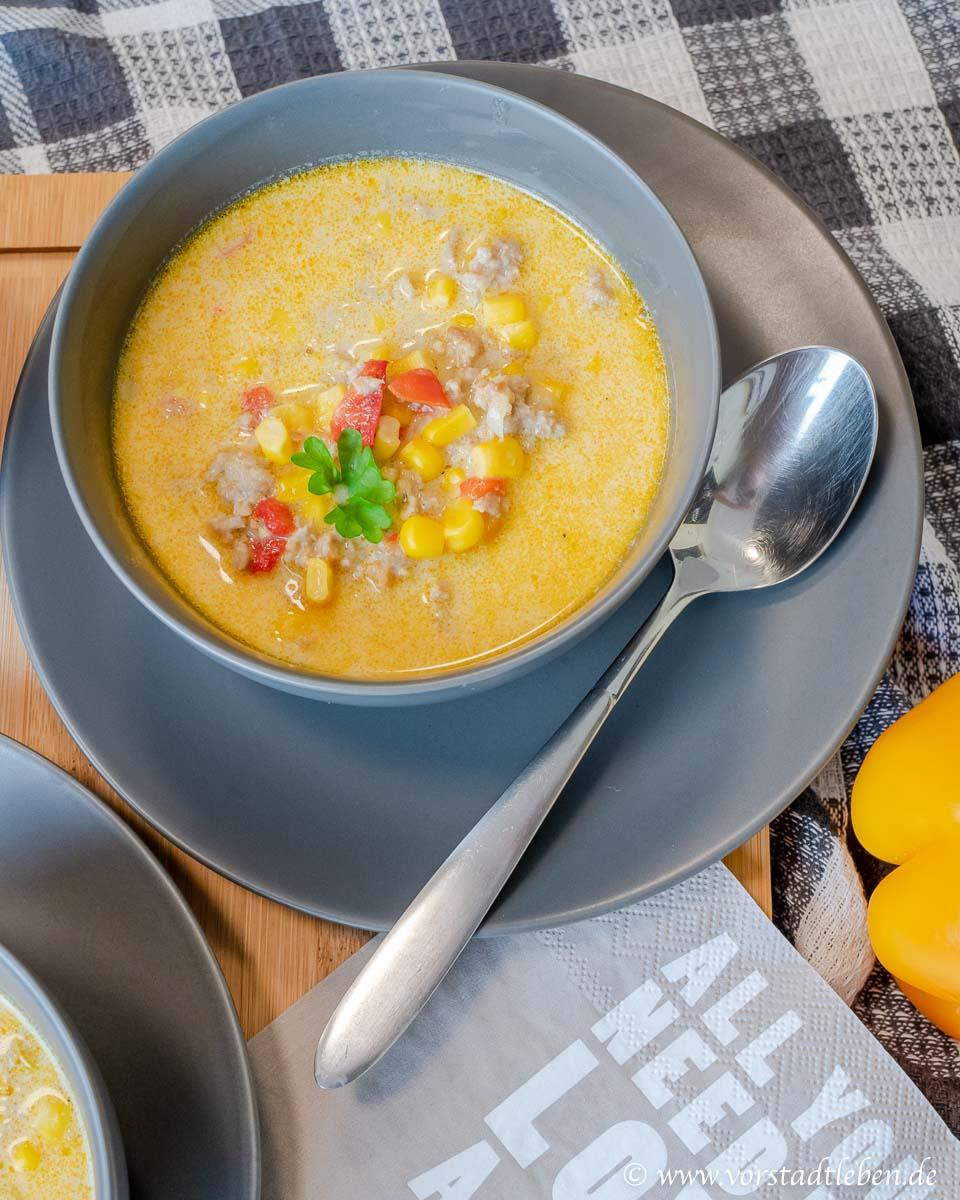 Feierabendrezept Kuechenschmecktakel Maissuppe