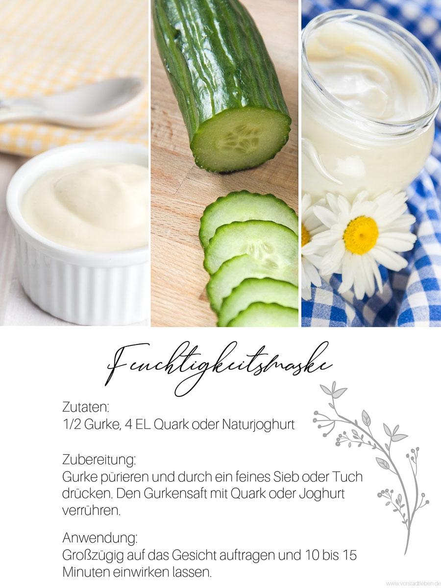 Feuchtigkeitsmaske Hautpflege im freuhling