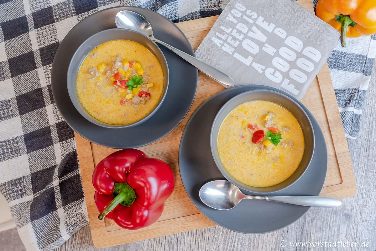 Maissuppe Partysuppe Feierabendküche