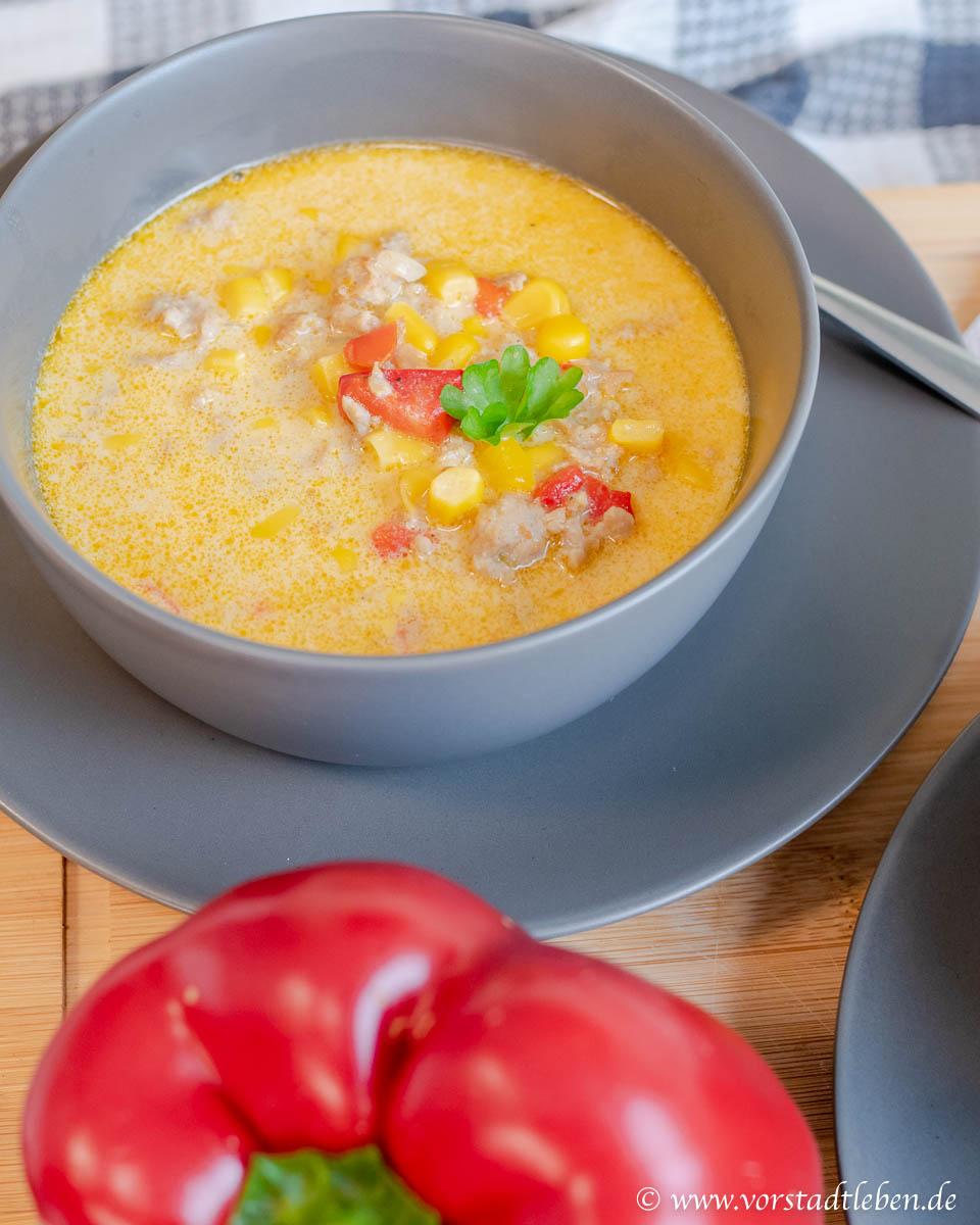 Maissuppe Rezept einfach