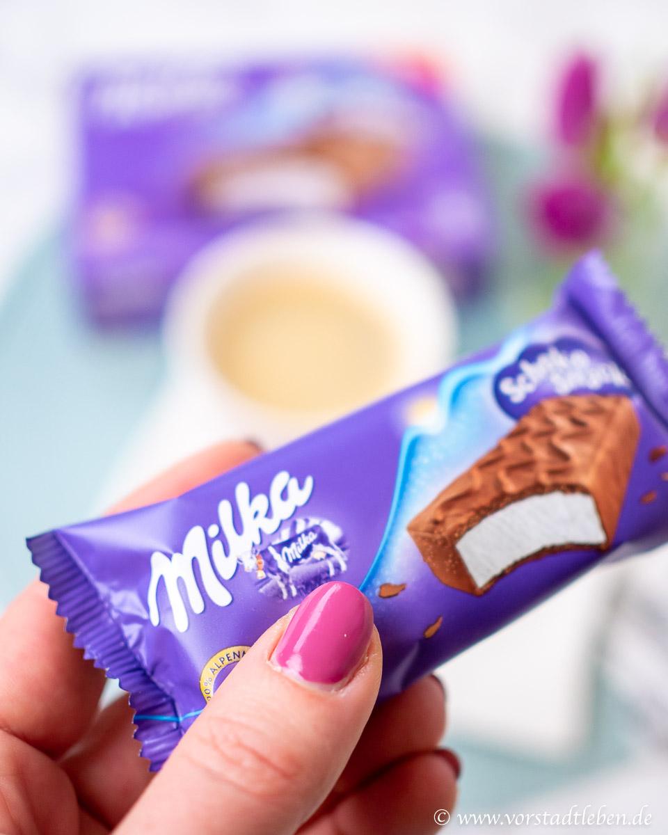 Milka Schoko Snack Genuss im handlichen Format Genussmoment