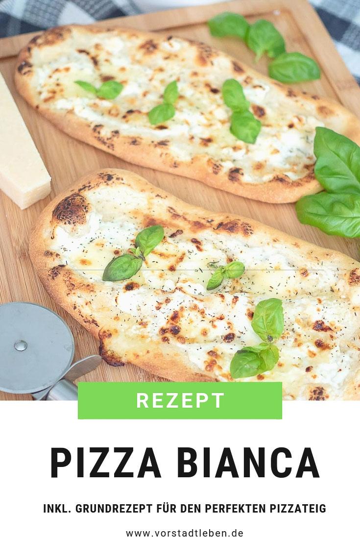 PIZZA BIANCA Pinterest Pin