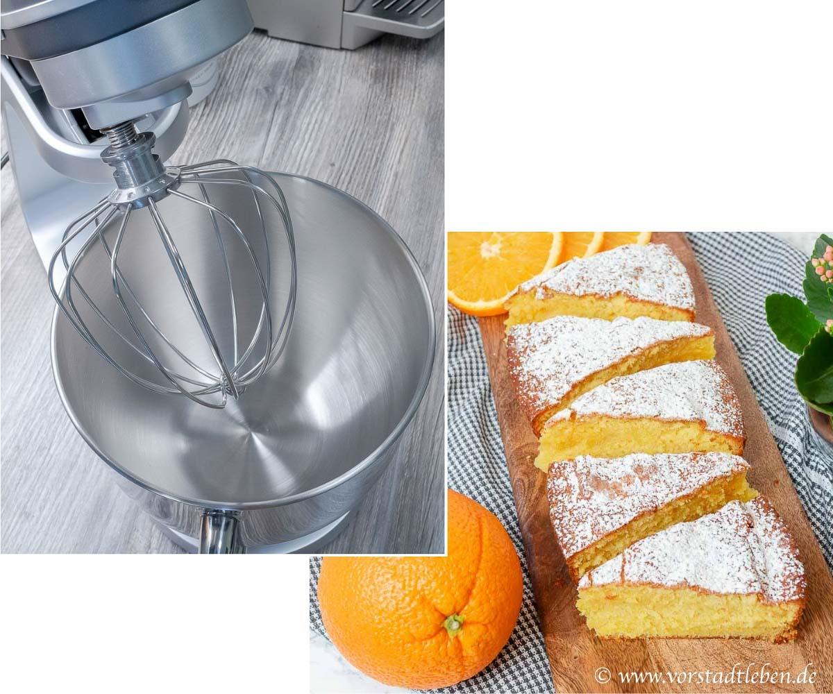 Ruehrkuchen Orangenkuchen Kuechenmaschine