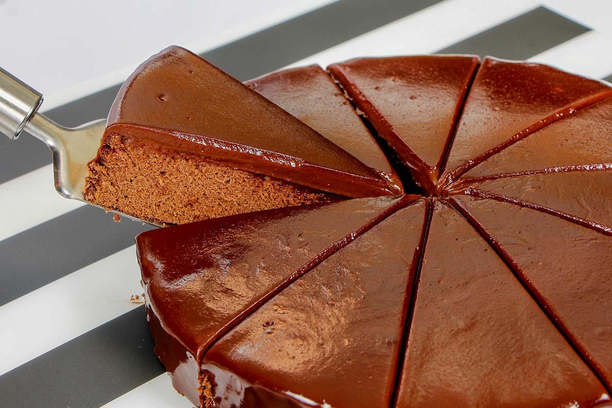 Schokoladenkuchen Inkonsequenz