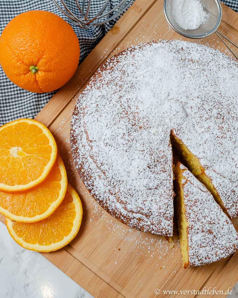 einfacher ruehrkuchen saftiger orangenkuchen