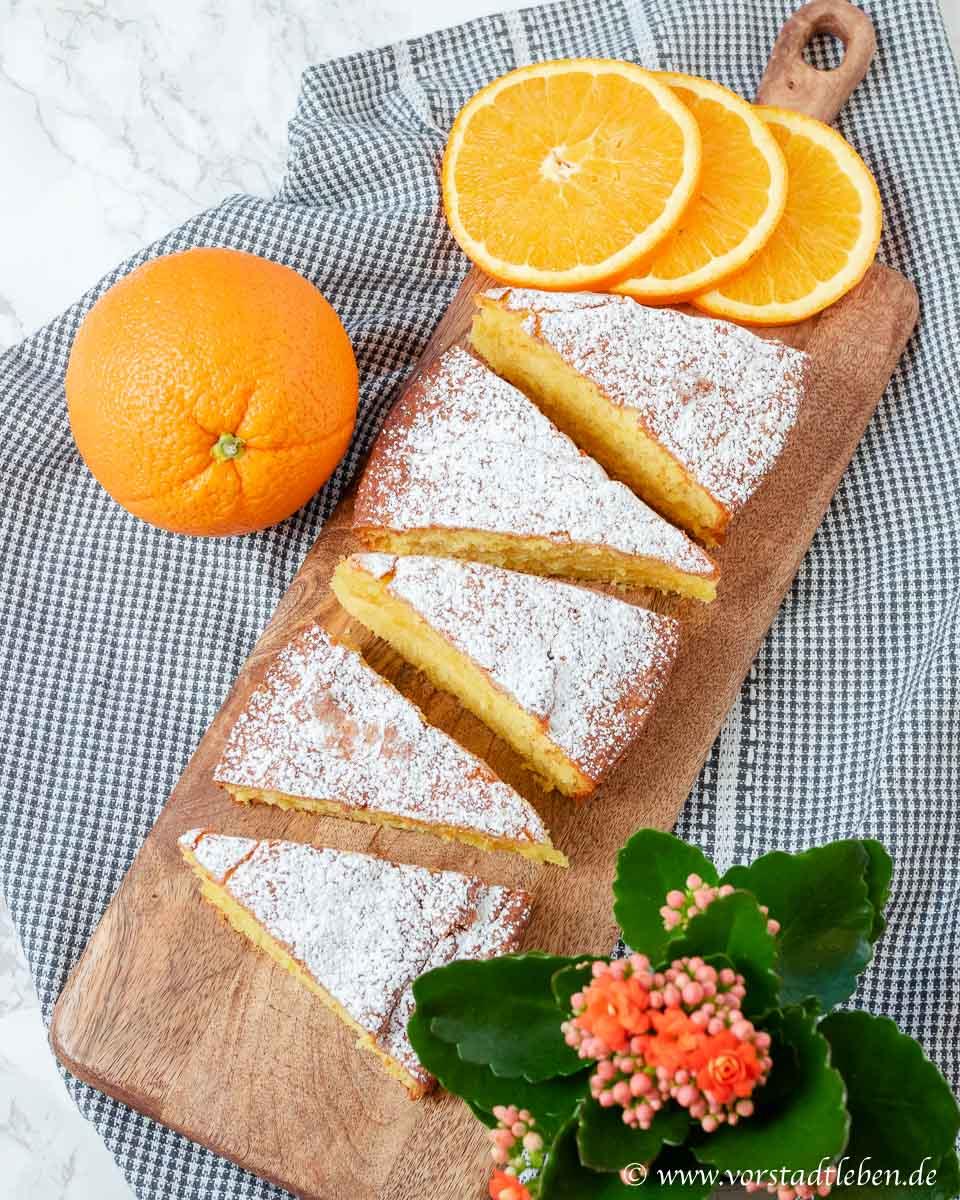 klassischer ruehrkuchen saftiger orangenkuchen