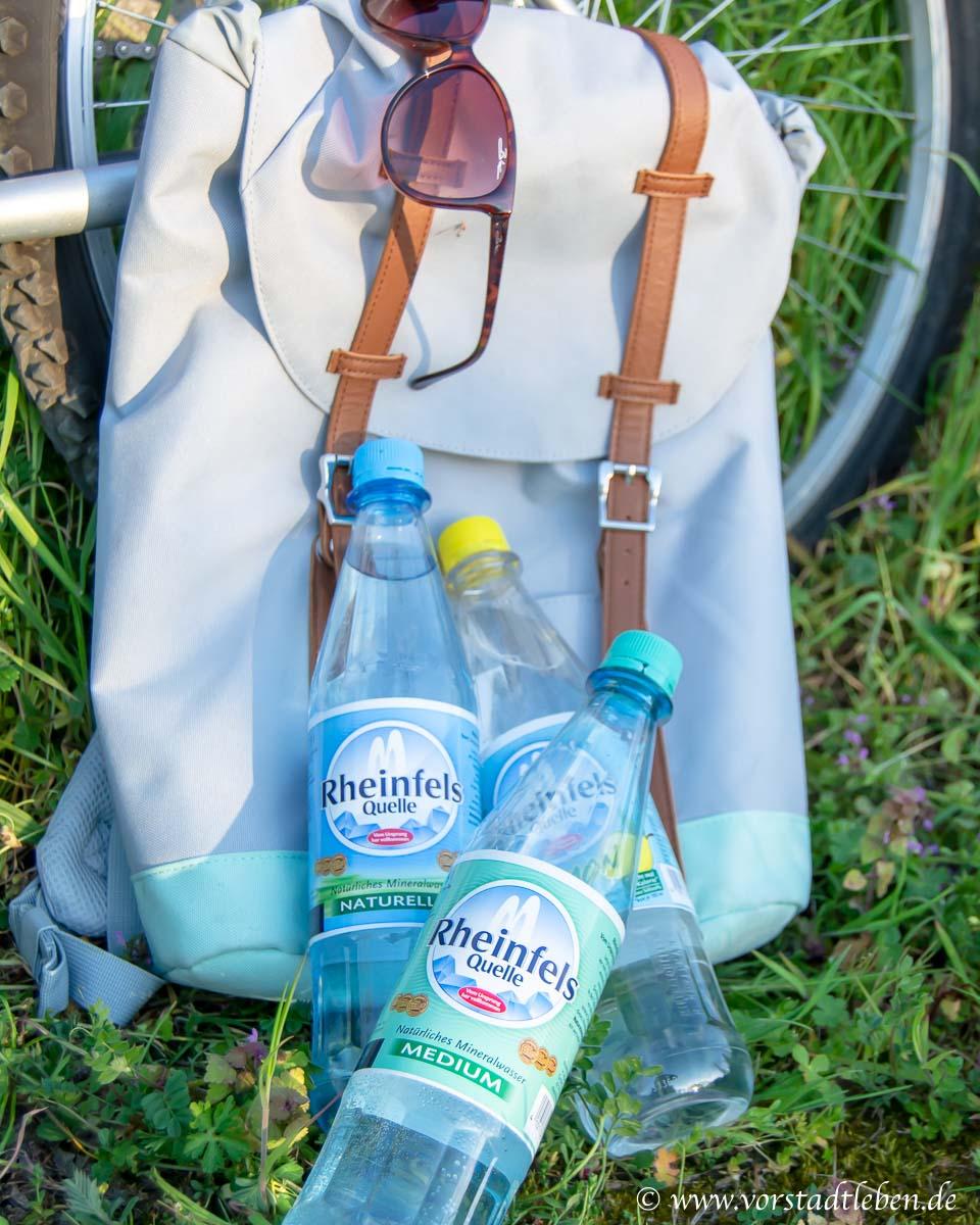 Fahrradtour Rucksack rheinfels quelle