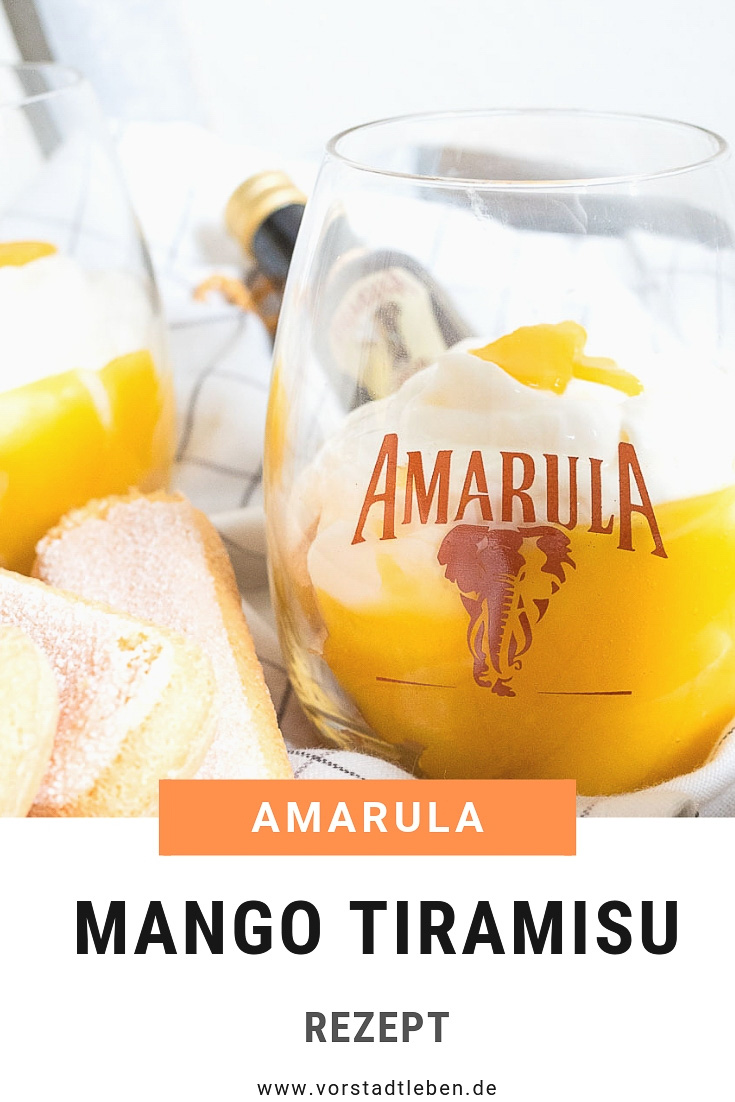 Mango Tiramisu Amarula Cream