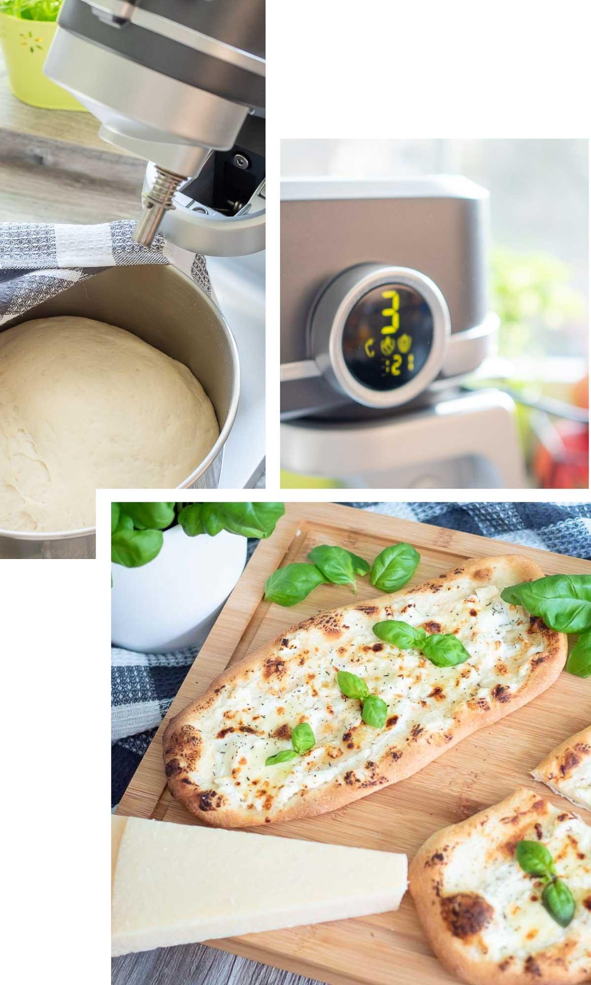 Pizza bianca grundrezept pizzateig