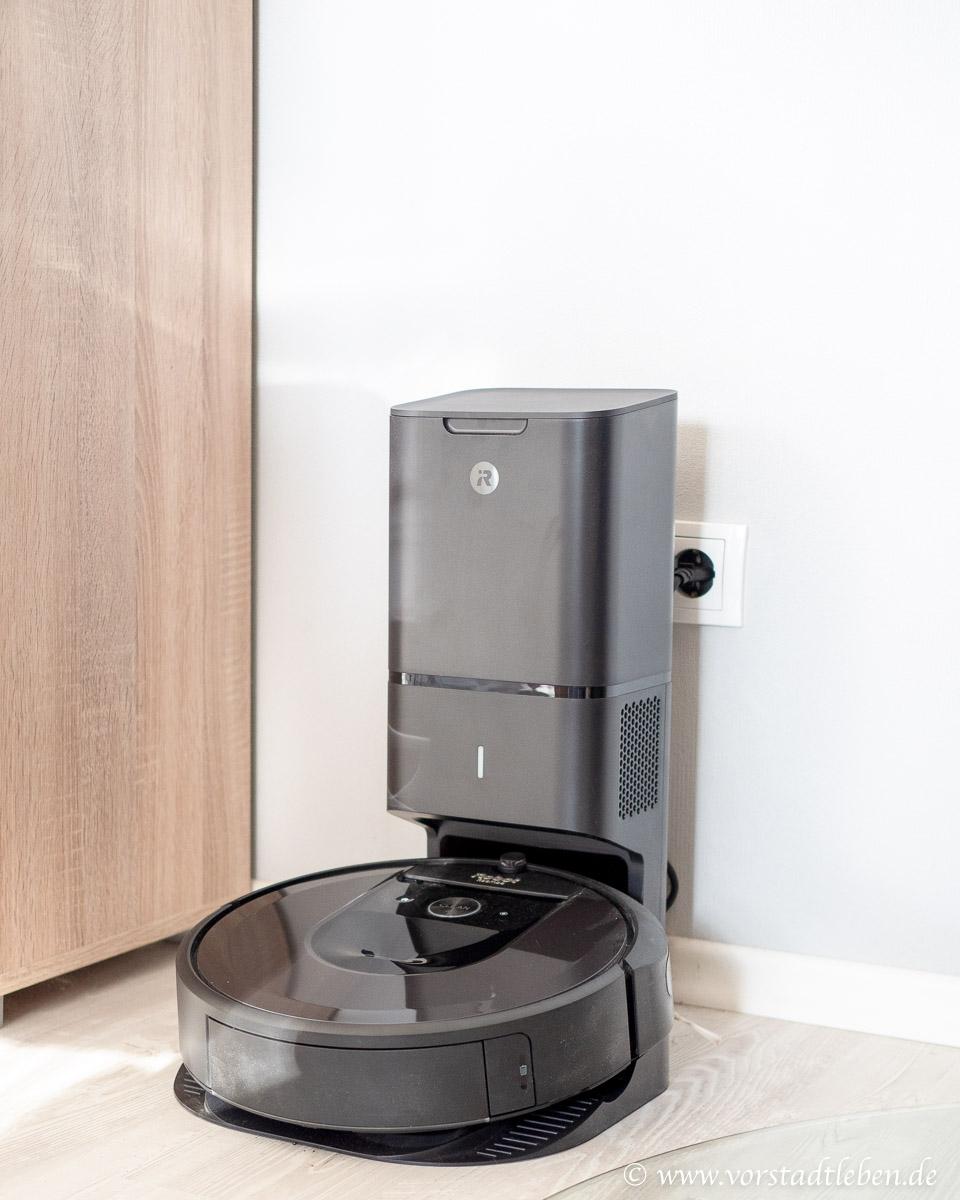 iRobot roomba i7 plus mit automatischer Absaugstation