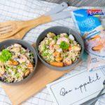 Escal Seafood Rezept Nudelpfanne