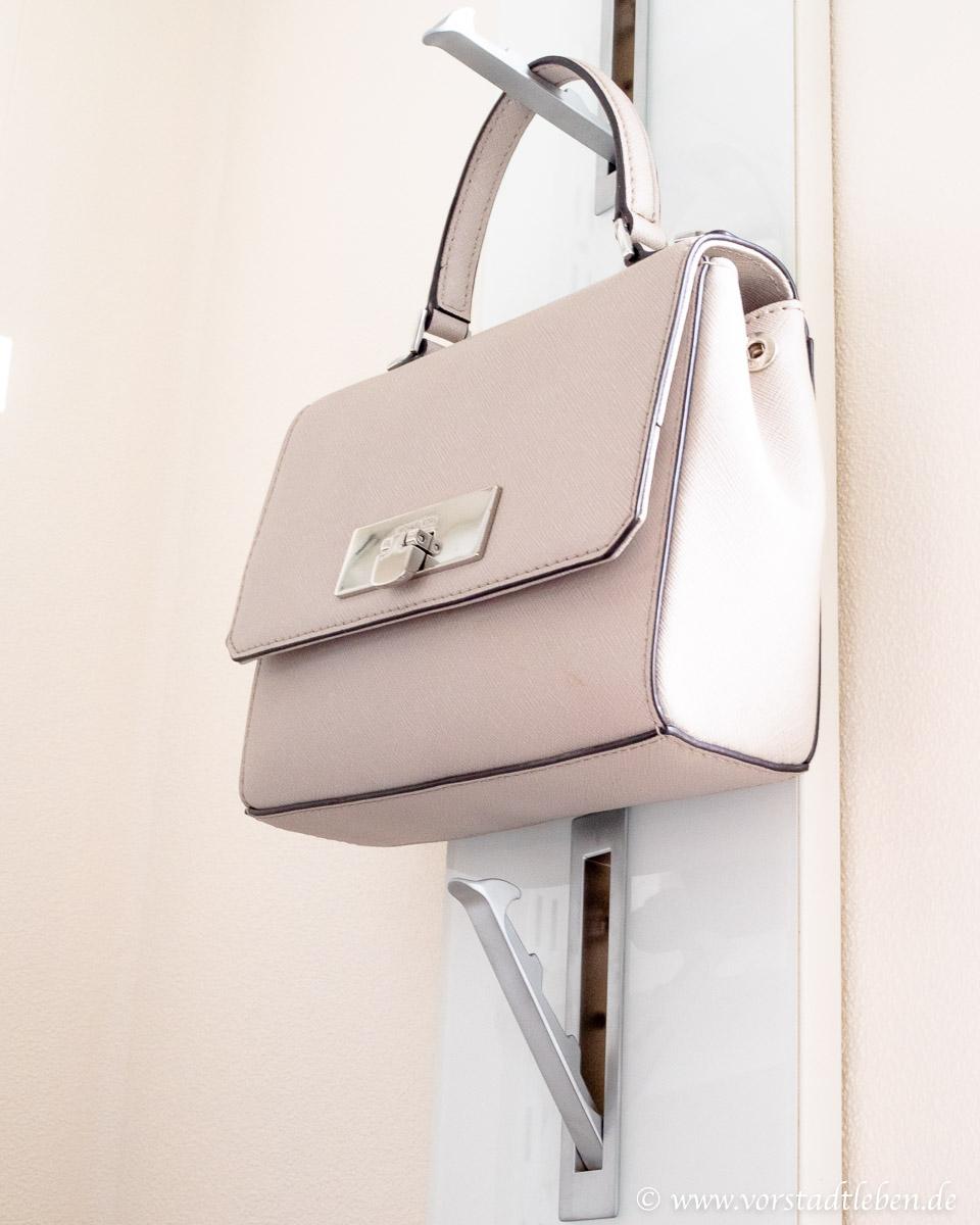 Garderobenpaneel Handtaschenaufbewahrung