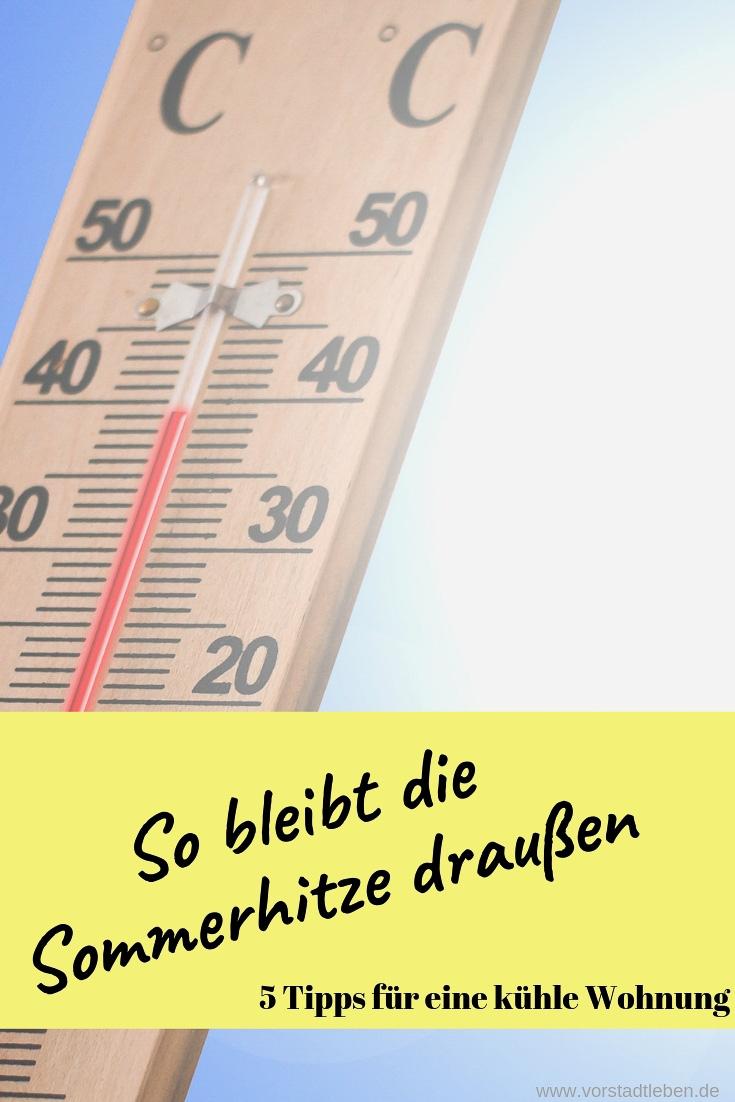 Sommerhitze Tipps Pinterest Pin