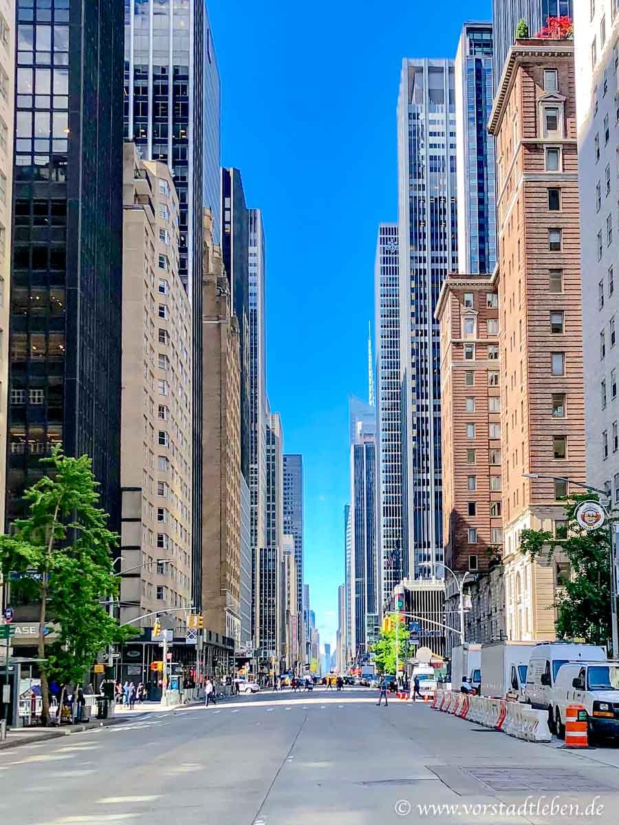 New York strassenzug