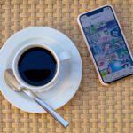 Smartphone Kaffee Instagram