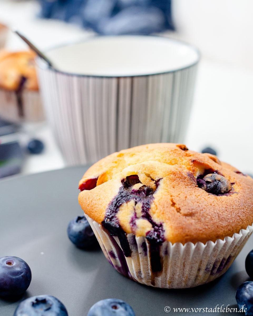 Blaubeermuffins Rezept Kuechenschmecktakel Vorstadtleben