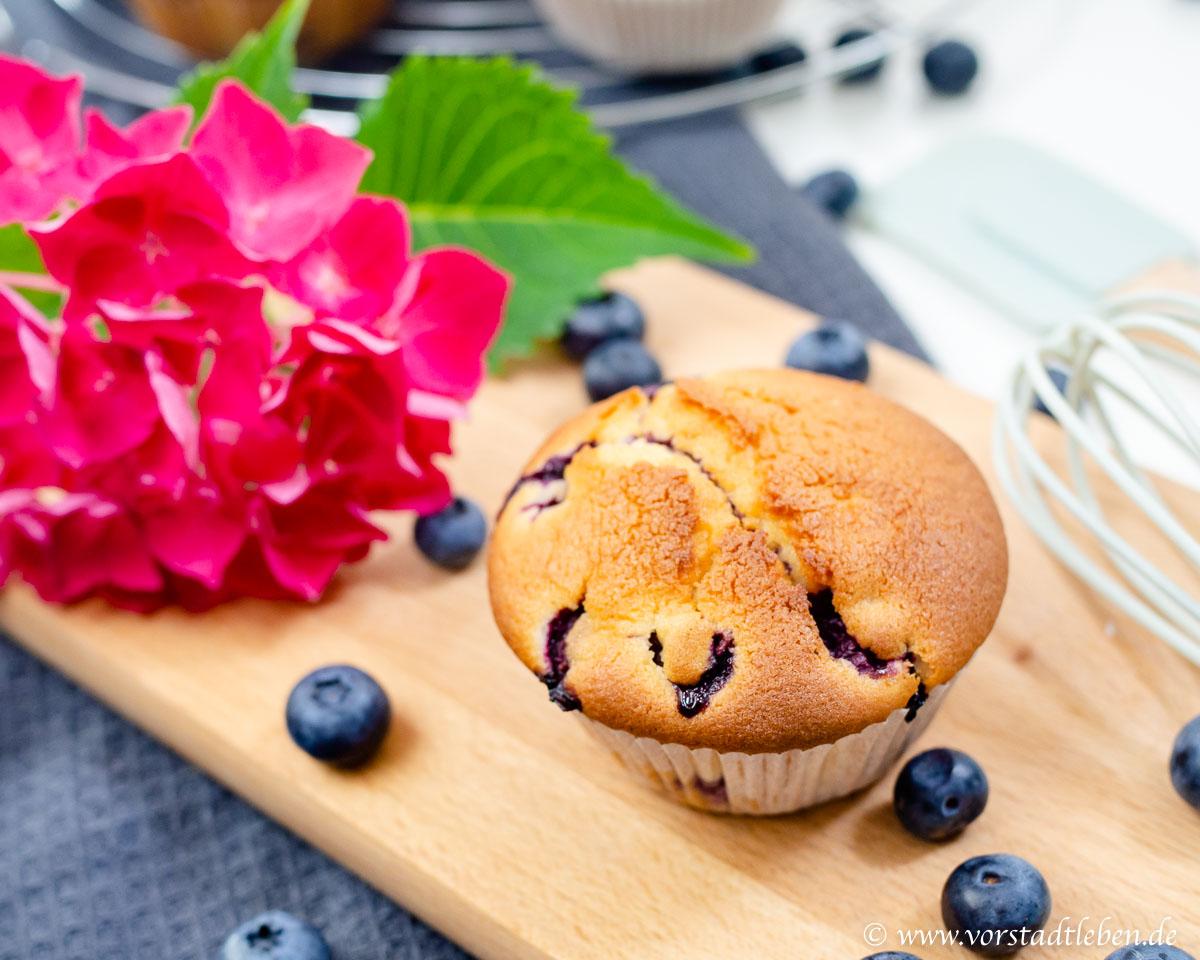Rezept Blaubeermuffins Kuechenschmecktakel