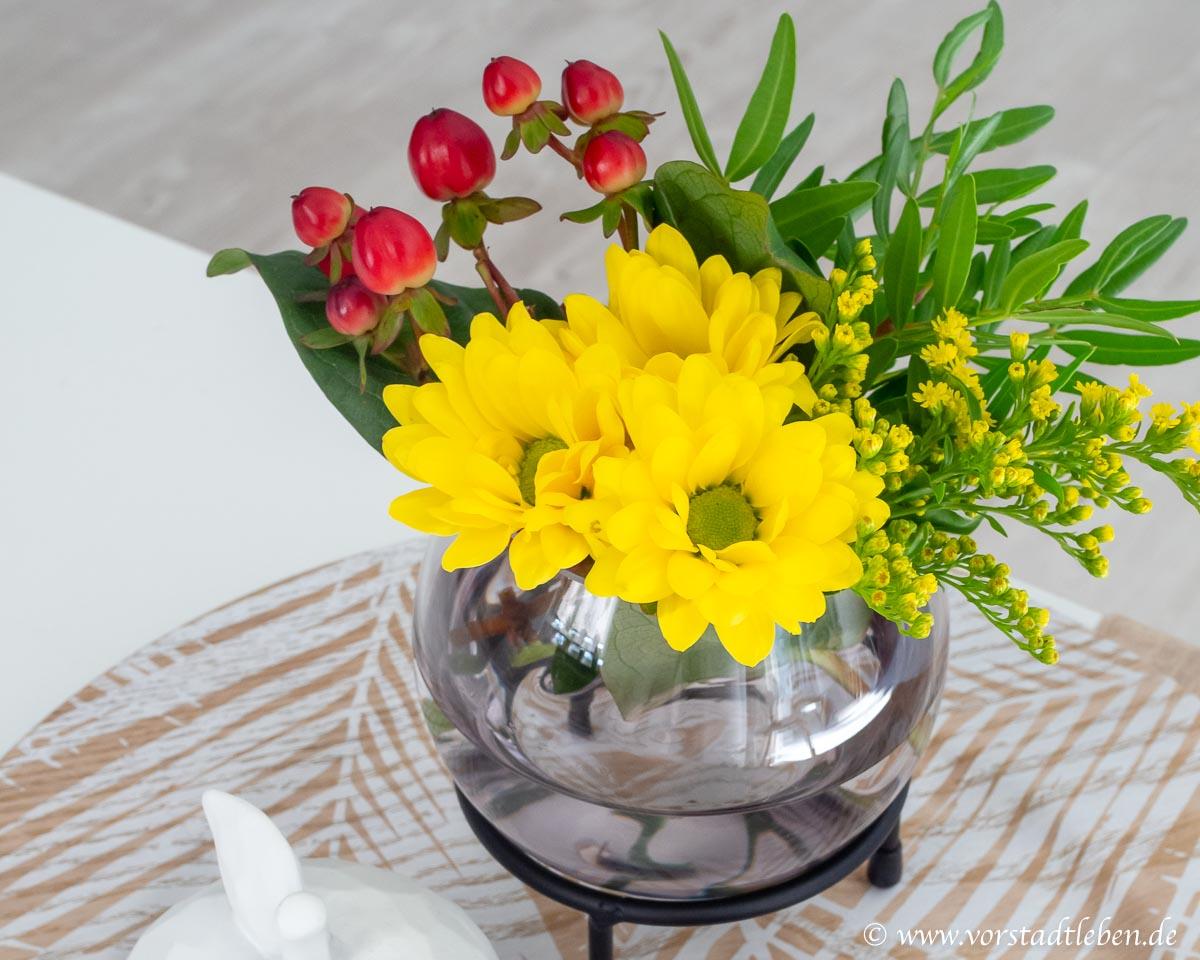 Blumen in der Vase Dekoration