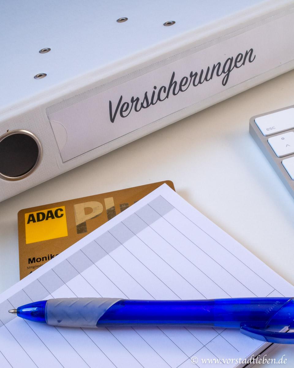 Versicherungen ADAC Autoversicherung