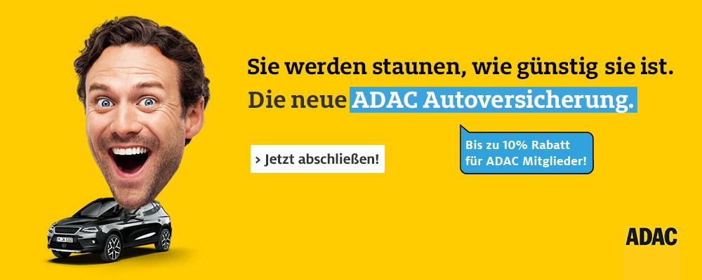 Banner ADAC Autoversicherung