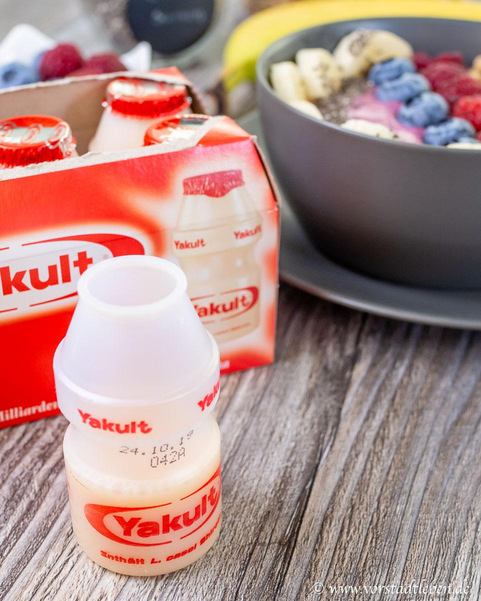 Yakult zum Fruehstueck