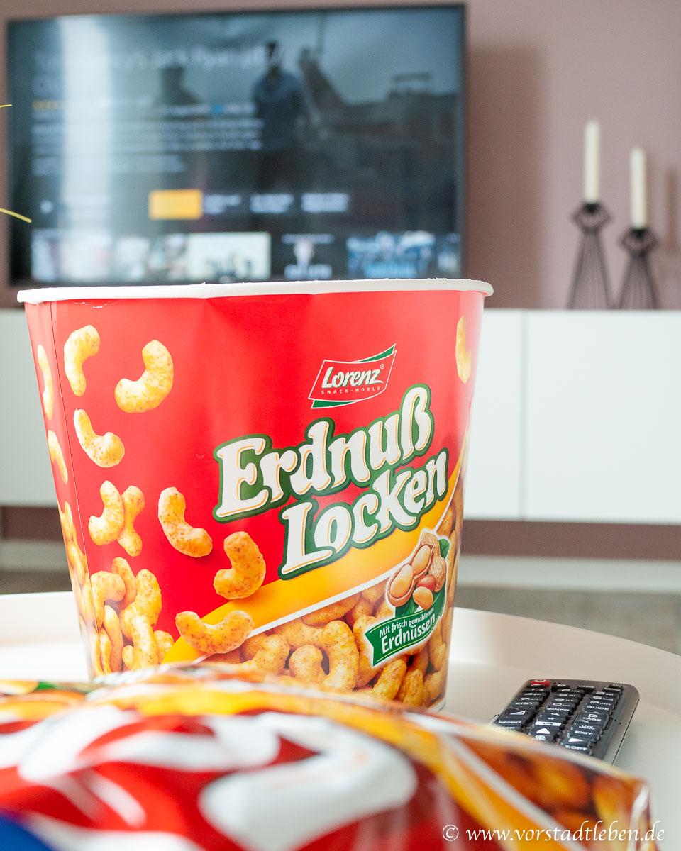 Filmsonntag fernsehen mit Erdnusslocken