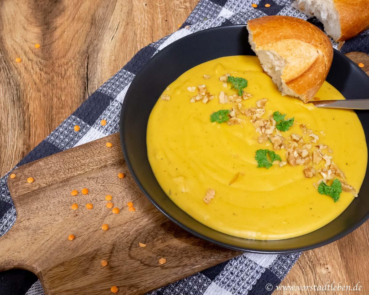 Linsen Kokos Suppe Suppenliebe Rezept