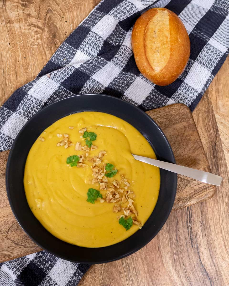 Suppenliebe Linsen Kokos Suppe Rezept