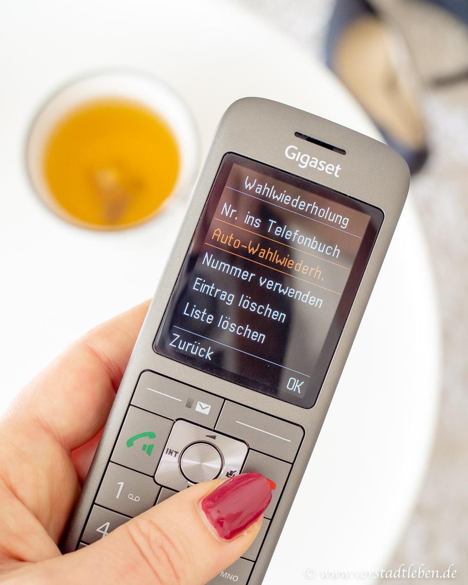 Telefon Gigaset Funktionen