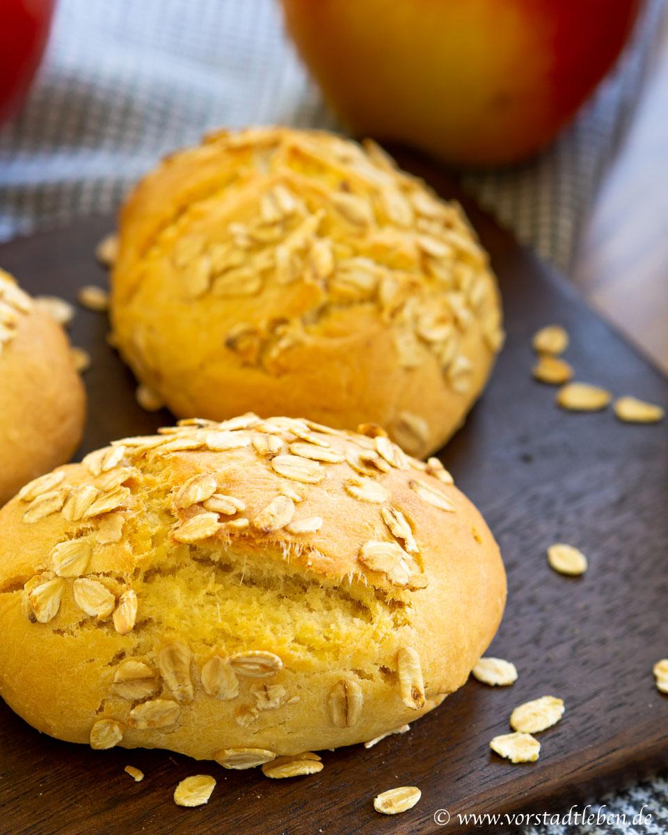 Broetchen ohne Hefe backen
